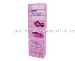 crystal shoe box