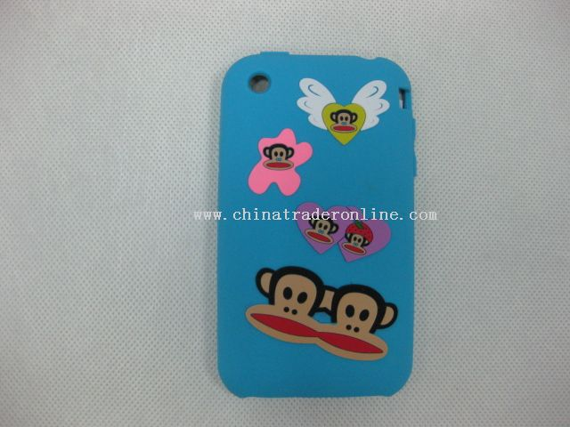 silicone cover skin case for Monkey/ iphone3G
