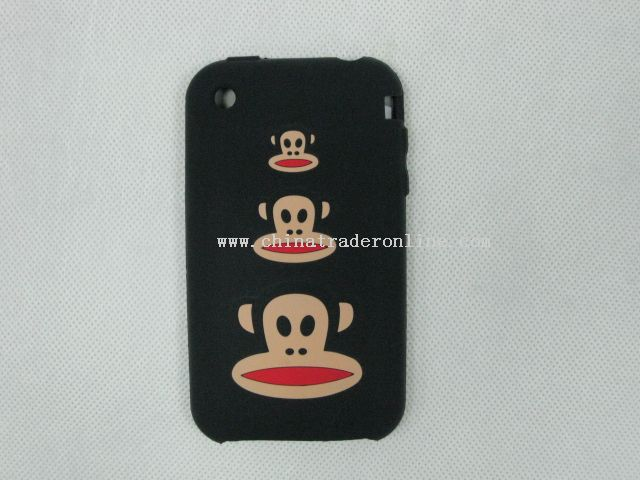 monkey silicon case for Iphone3G