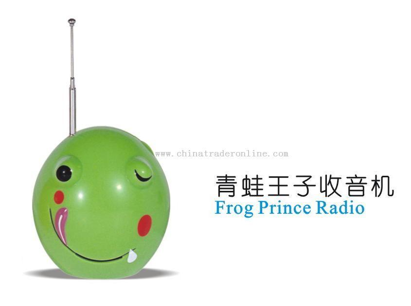 Cartoon Frog Radio