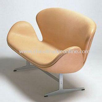 Arne Jacobsen Swan leather lounge Sofa