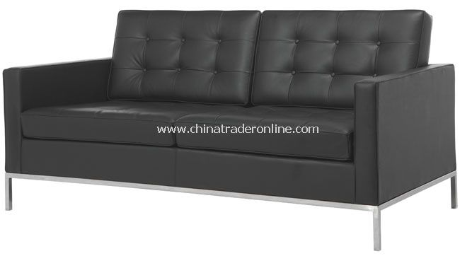 Florence Knoll 2 Seater Modern Classic Sofa