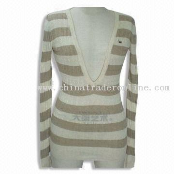 100% Cotton Knitted Sweater