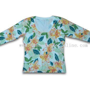 Silk and Cotton Womens Fashion Sweater