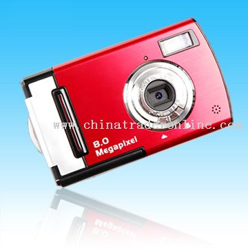 2.4 inch TFT 8.0Mega Pixels Digital Camera