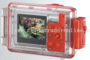 5.0 Mp Waterproof Digital Camera