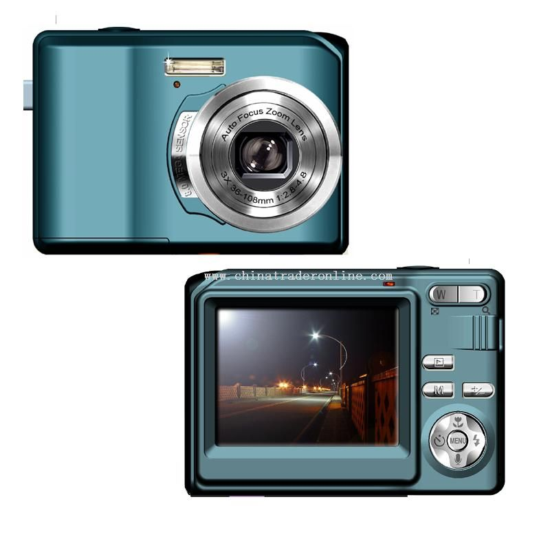 8.0MP CMOS Digital Camera with Optical Zoom from China
