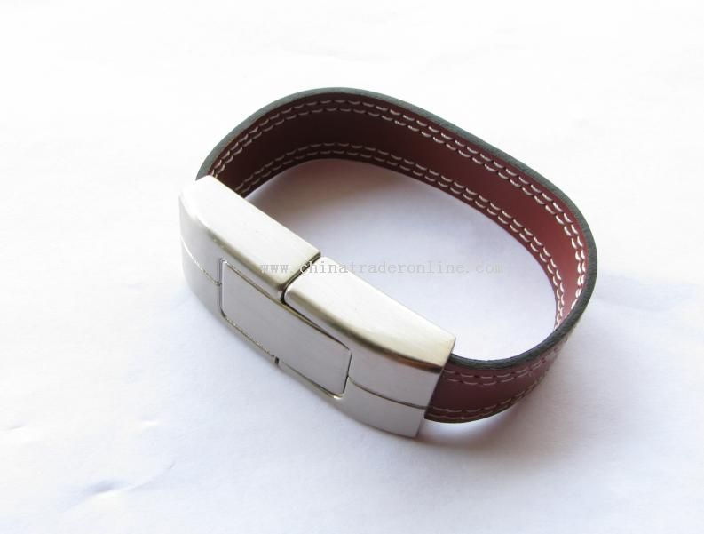 Leather Bracelet USB Stick