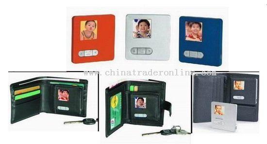 Wallet Digital Photo Frame
