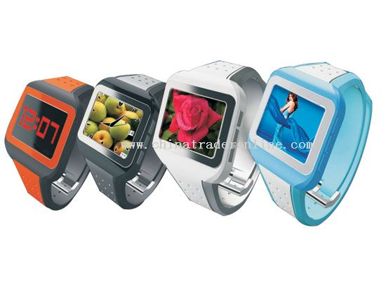1.4 Inch Color Digital Photo Frame Watch