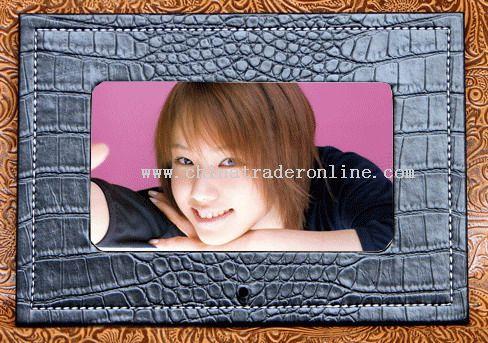 7 Inch Leather Digital Photo Frame