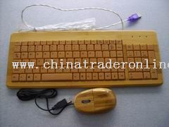 Bamboo Mouse and Keyboard