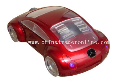 Car Shape Mouse with USB Speaker