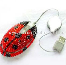 Crystal Optical Mouse from China
