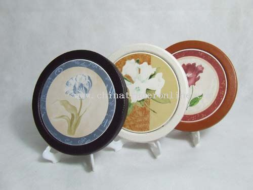 Leather Coaster from China