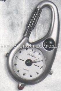 Zinc Alloy Clip Carabiner Watch