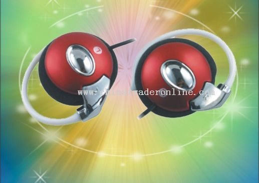 Clip-on MP3 Earphone
