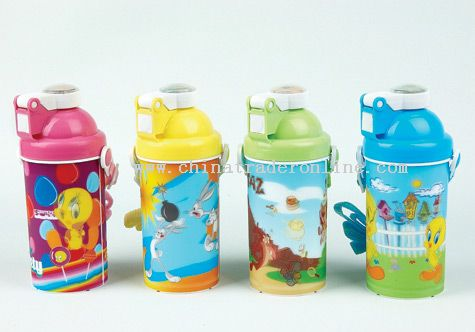 3D Children Water Bottle