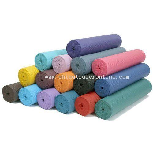 PVC/TPE/EVA/PE Yoga Mat