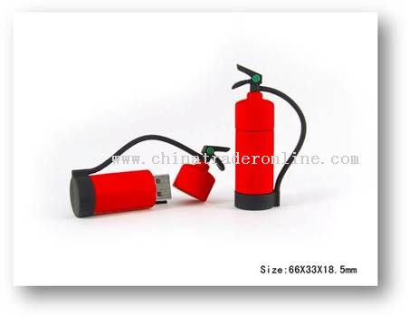 Fire Extinguisher USB flash drive from China