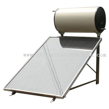 Flat Solar Water Heater from China