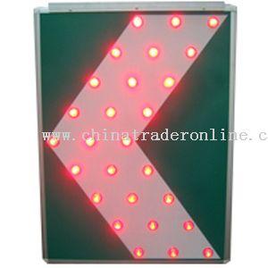 LED Light Solar Traffic Sign