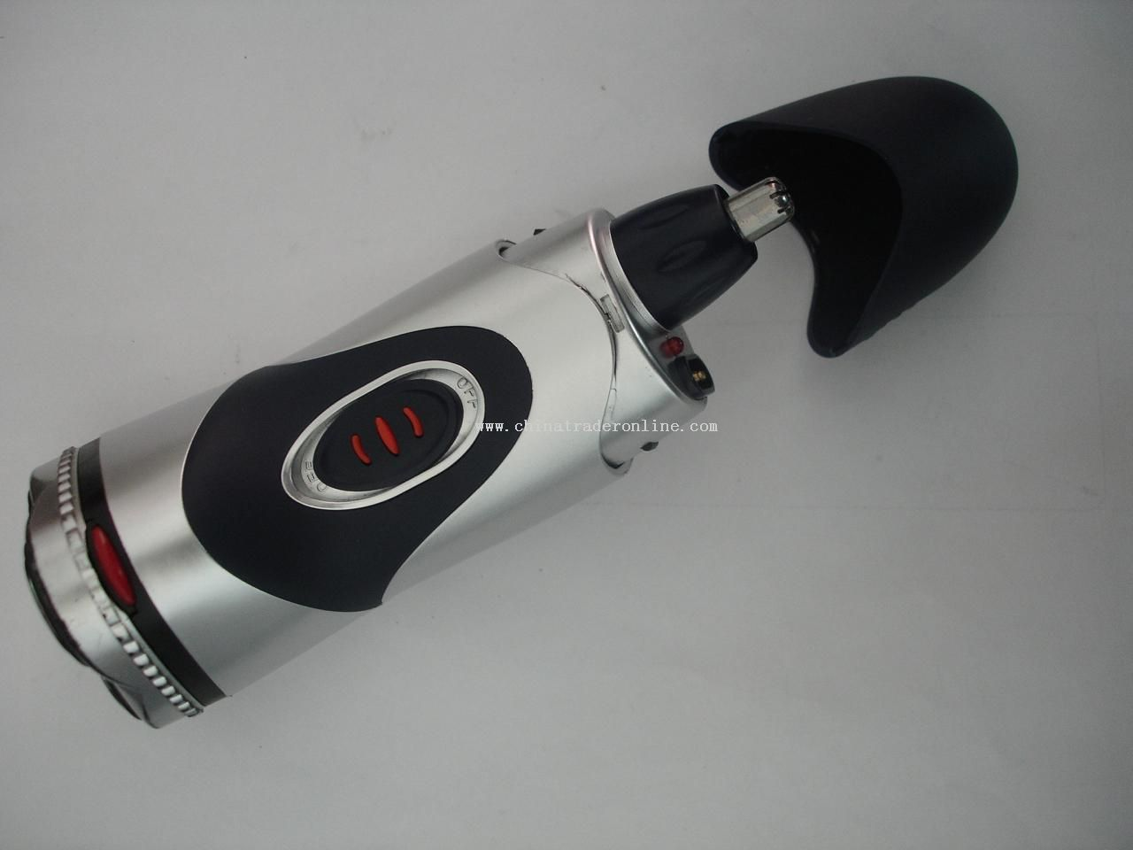 Electric Shaver with Nose Trimmer