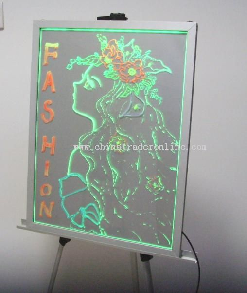 Electronic Fluorescent Writing Board