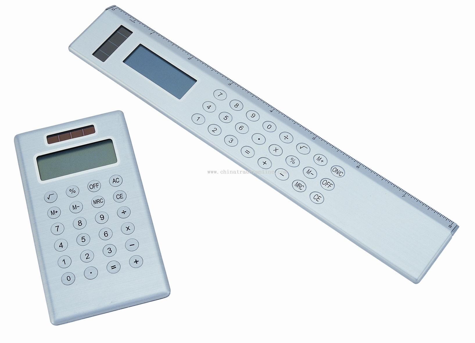 Aluminum Case Solar Energy Calculator