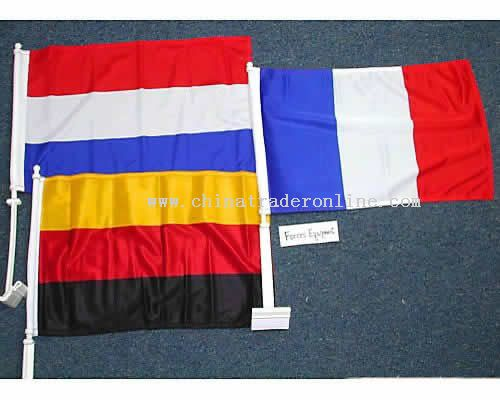 Car Window Flag with 51cm Stick