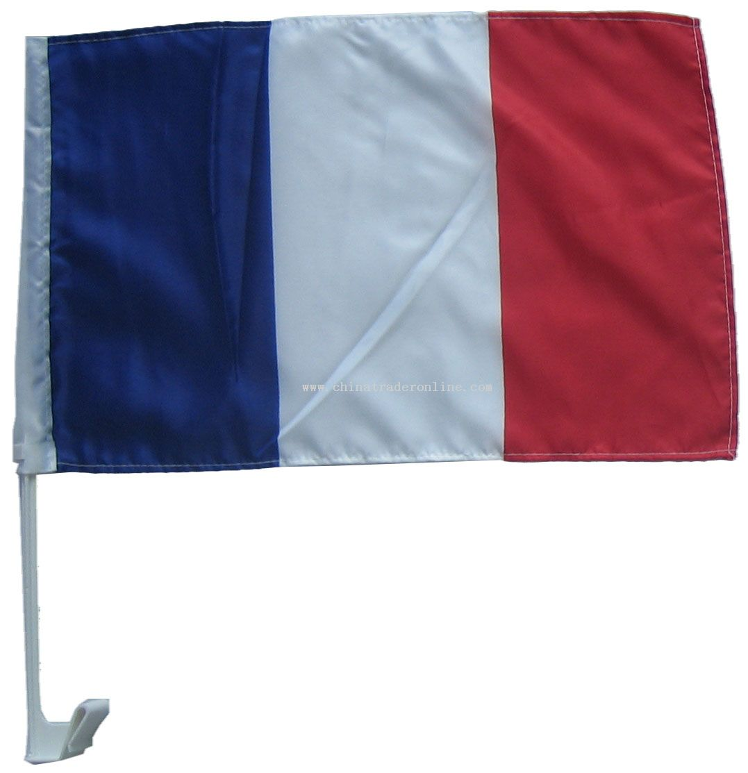 France car flag from China