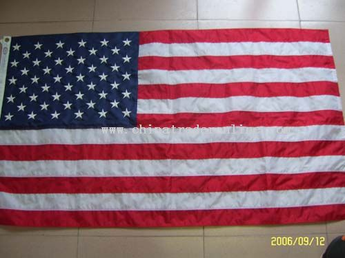 USA Embroidery Flag from China