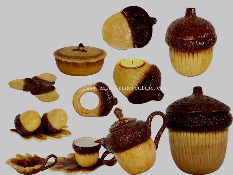 Ceramic Thanksgiving Day Tableware