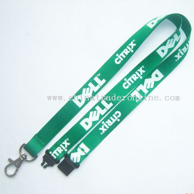 Promotional Silk Screen Printing Lanyard from China