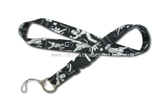 Sublimation Printing Lanyard from China