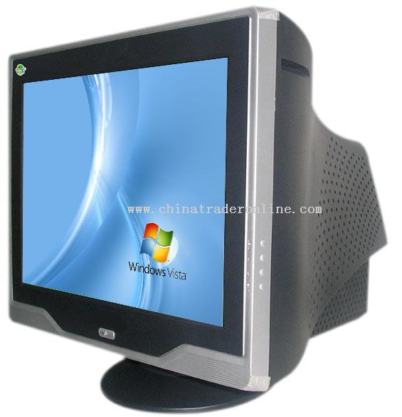 17 inch Pure Flat CRT Monitor from China