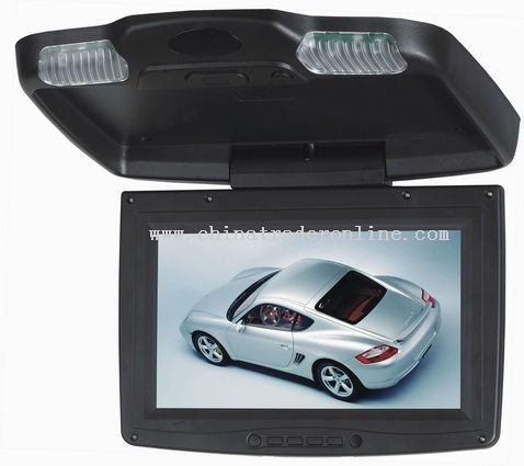 9.2 Inch Car Roof Mount LCD Monitor from China