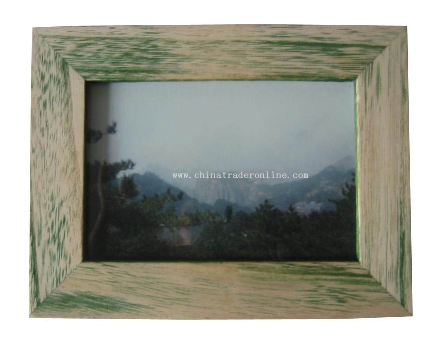 Nature Wooden Photo Frame from China