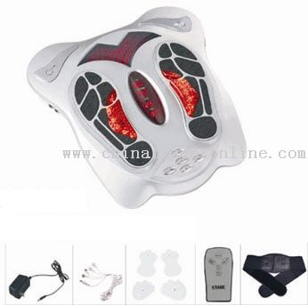 Infrared Therapy Foot Massager with Belt