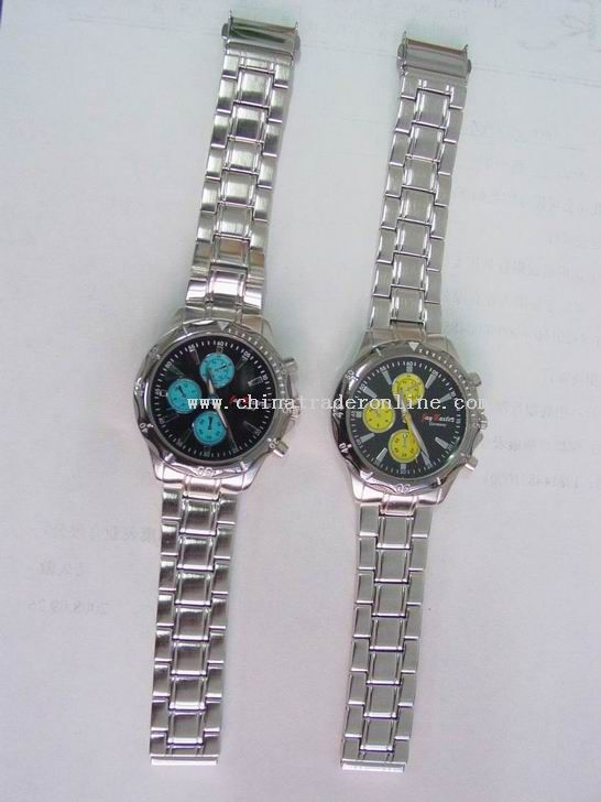 Alloy band Wrist Watch