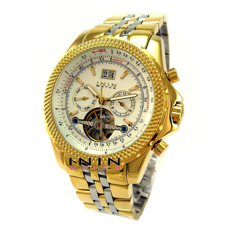 Automatic Steel Watch