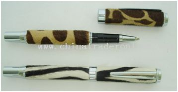 Leather Roller Pen from China