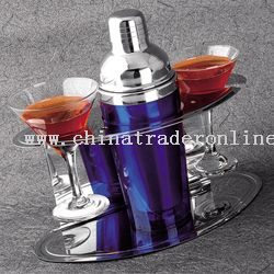 Colorful Double-Wall Cocktail shaker Set