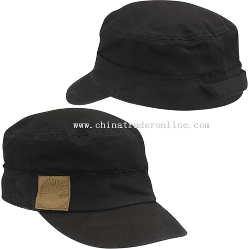 100% cotton broken twill Military Caps