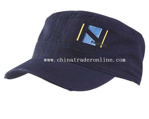 100% Cotton twill Military Cap from China
