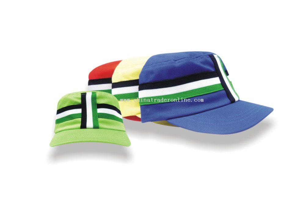 cotton woven army cap
