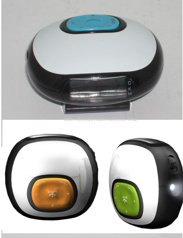 Step PEDOMETER WITH FM RADIO