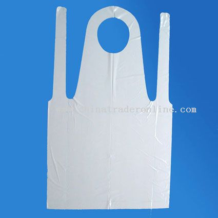 Disposable PE Apron Embossed