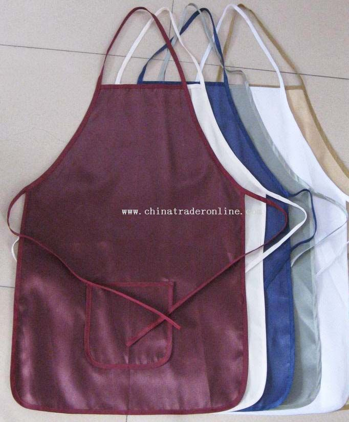 Polyester Apron from China