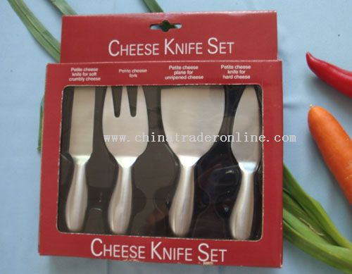 4pc Cheese Knife Set